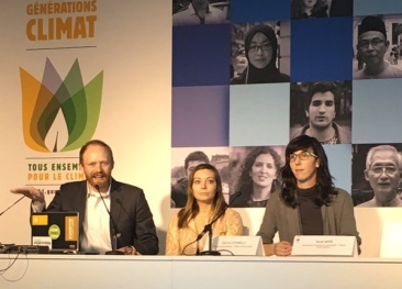 COP22: Forests for Climate Panelist in Paris