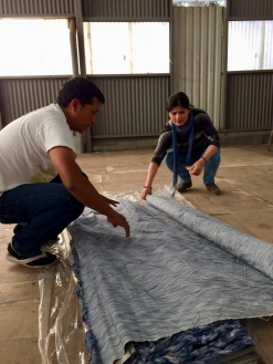 Working with artists in Guatemala